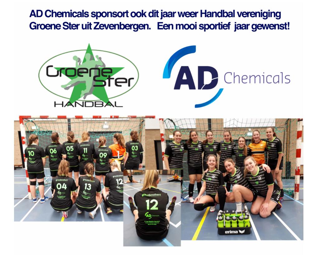 ad shirt sponsor groene ster