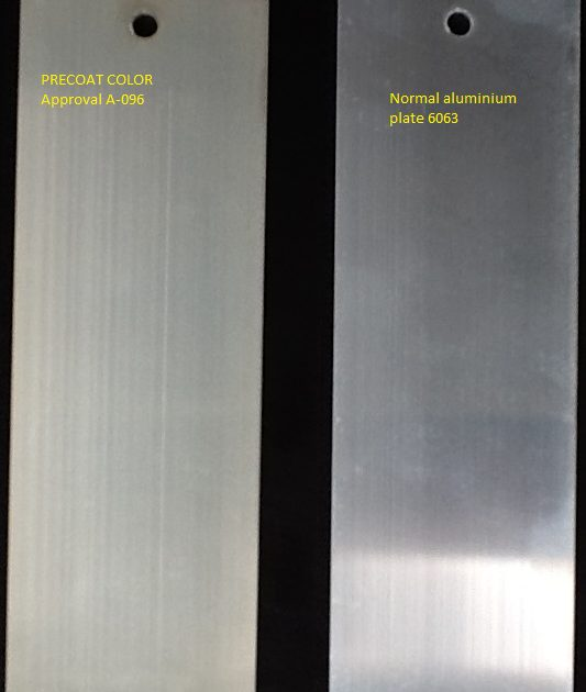 precoat color chromefree pretreatment aluminum