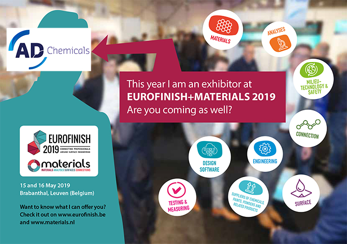 AD Chemicals chromefree innovations eurofinish leuven