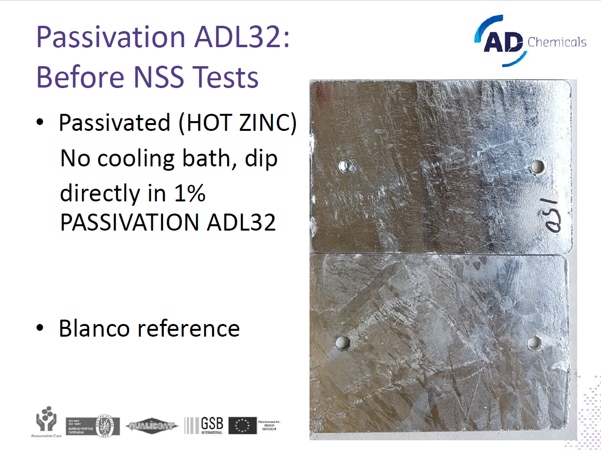 passivation chromefree adl-32
